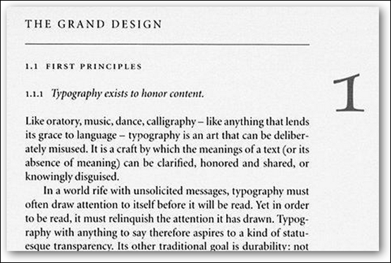 From the Elements of Typographic Style by Robert Bringhurst