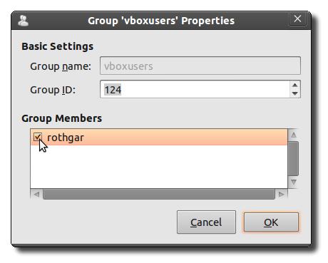 Mount USB Devices in Virtualbox with Ubuntu