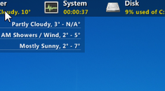 """How to Keep a Rainmeter Skin from Hiding When You """"Show Desktop"""""""