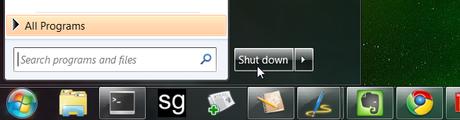 how to make vlc shut down pc