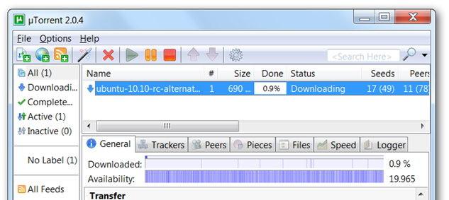 my utorrent has stopped downloading