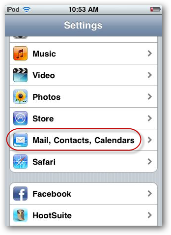 Sync Hotmail With Your iPhone or iPod Touch with Exchange ActiveSync