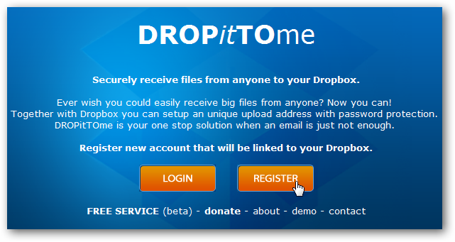 Get Files Sent to Your Dropbox via Email or a Webpage