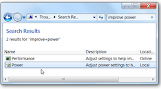 Improve Battery Life in Windows 7 with the Built-In Power Troubleshooter