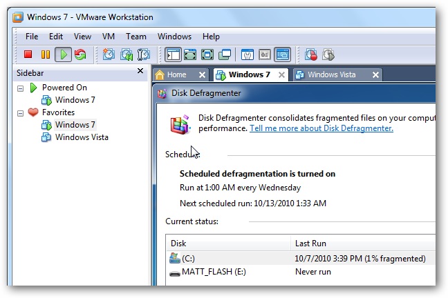 Improve VMware VM Performance by Defragmenting Virtual Disks