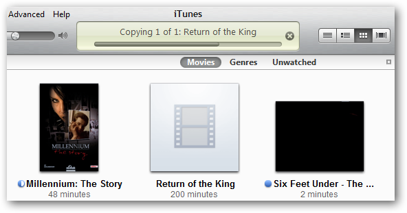 how to add avi files to itunes
