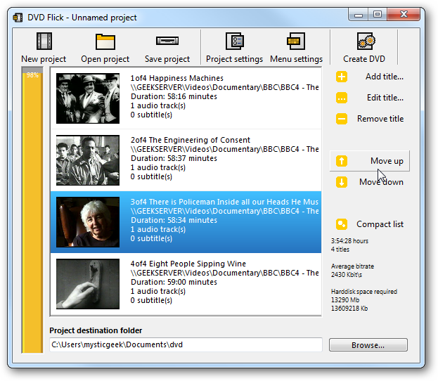 How to Make Your Own DVDs from Almost Any Video File