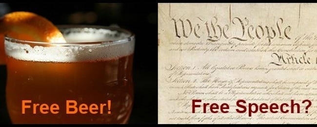 """What Does """"Free as in Speech"""" or """"Free as in Beer"""" Really Mean?"""