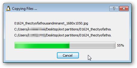 copying files...