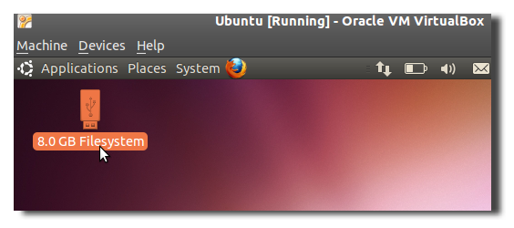 Mount USB Devices in Virtualbox with Ubuntu