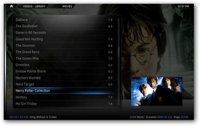 Consolidate Movie Collections in XBMC with Movie Sets