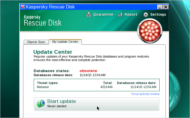 should i delete quarantined files in kaspersky