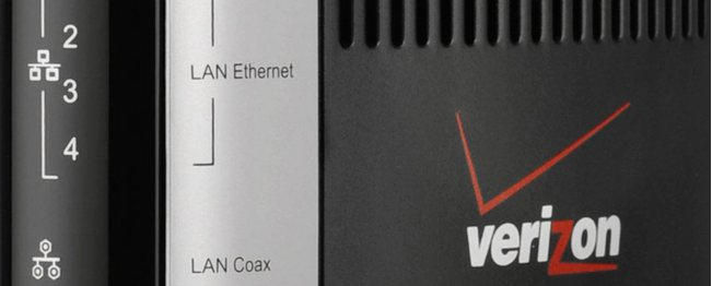 Verizon FiOS Internet Hook up