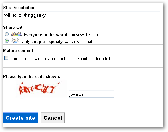 How to Create a Wiki without any Technical Know-How Using Google Sites