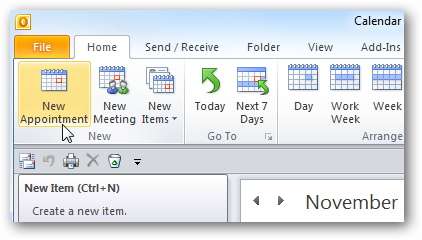 Quick Tip Setup and Cancel Appointments in Outlook 2010