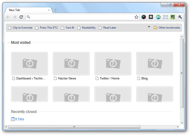 how to fix broken images on websites google chrome