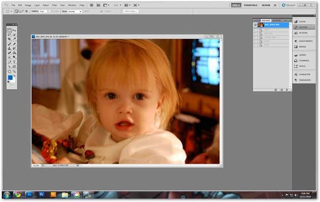 basic image editing in photoshop. Take a look through some basic photo-editing techniques and learn how you