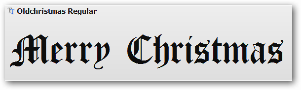 merry christmas fonts