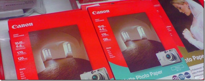 photo papers