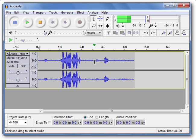 audio track - whole