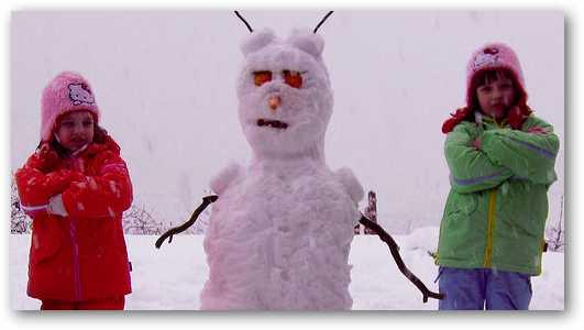 creating-a-snowman