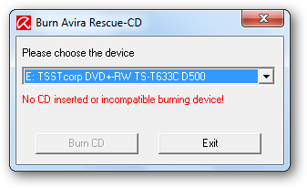 avira rescue disk iso download