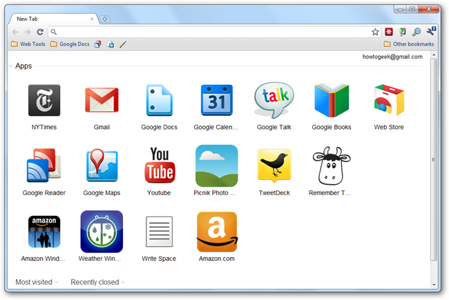 How to Use and Customize Google Chrome Web Apps - Tips general news