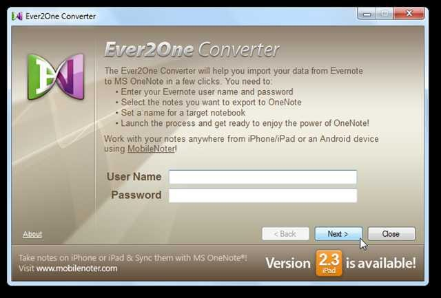 Import Evernote Notes Into OneNote the Easy Way