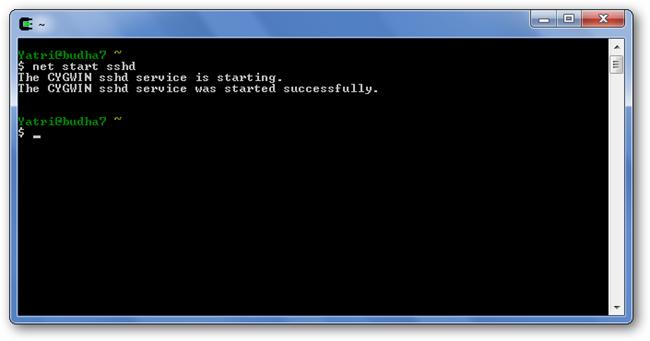 10-net start sshd