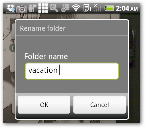 rename folder