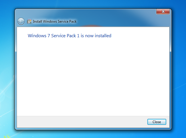 cst how to instal service pack