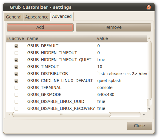 Grub Customizer - settings_007