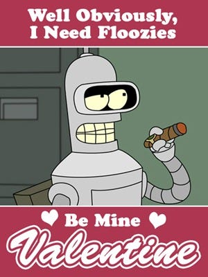 bender valentine copy
