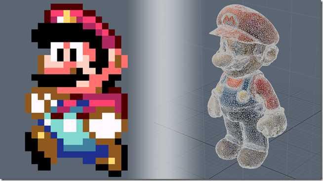 polygons vs pixels