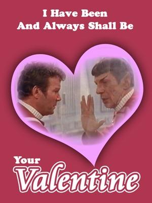 Glados Companion Cube Valentine Copy Star Trek Valentine Copy