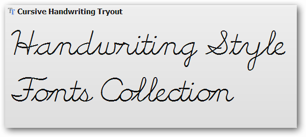 best free cursive fonts desktop handwriting style fonts collection series 1 8658