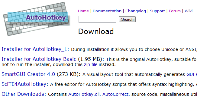 how to get page source hotkey