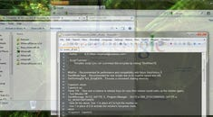How To Change Window Transparency in Windows 7 with a Hotkey