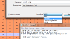 What Are Character Encodings Like ANSI and Unicode, and How Do They Differ?