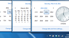 How to Quickly Switch to a Different Month or Year in the Windows 7 Calendar