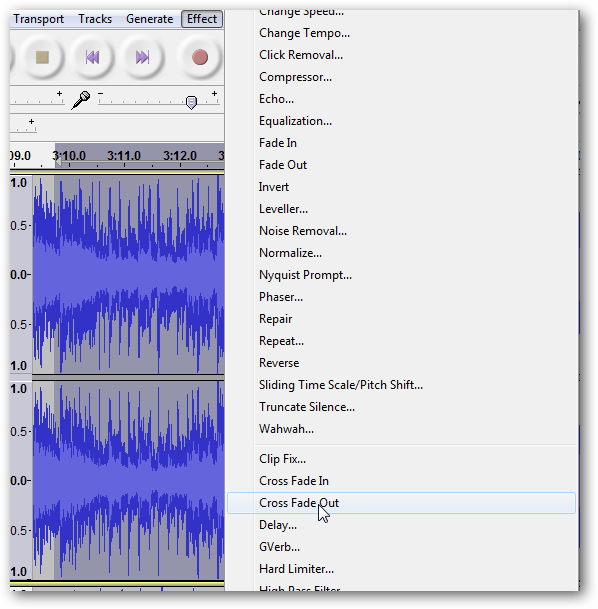 How to Use Crossfade in Audacity for Seamless Transitions