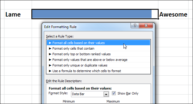 How to create progress bars in excel with conditional formatting ccuart Gallery