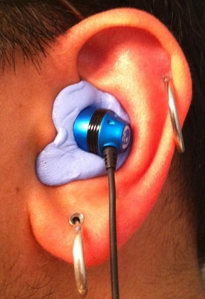 left ear 8