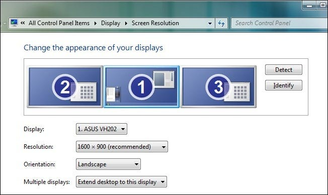 Max Out the Multi-Monitor Magic Under Windows 7