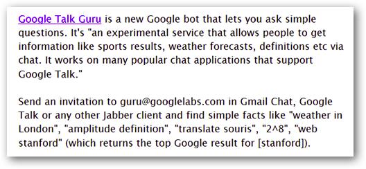 google-talk-guru
