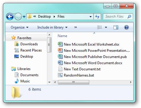 Stupid Geek Tricks: Randomly Rename Every File in a Directory