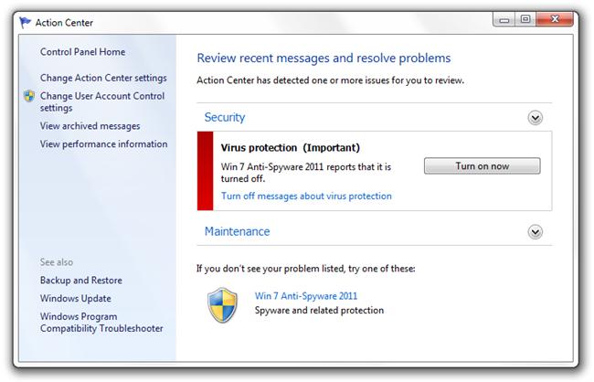 How to Remove Win 7 Anti-Spyware 2011 (Fake Anti-Virus