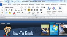 Beginner Geek: Add Flair to Word Documents Using Tables