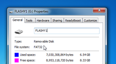 How to Convert a Hard Drive or Flash Drive from FAT32 to NTFS Format
