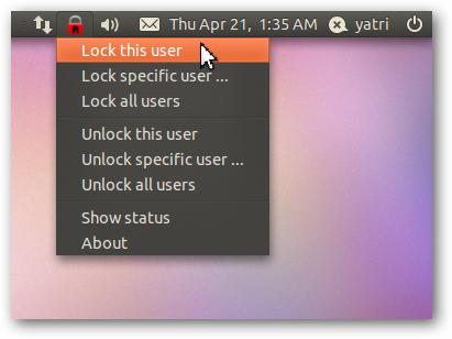 lock this user